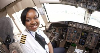 Captain Irene Koki Mutungi of Kenya Airways